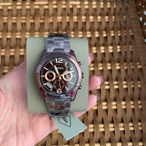 Fossil Watch wine color